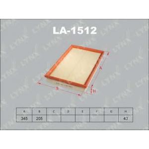 LYNX la-1512 Фильтр воздушный