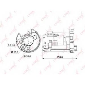 LYNX lf-162m Фильтр топливный погружной