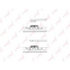 LYNX lw360 Зимняя щетка стеклоочистителя 360мм/14