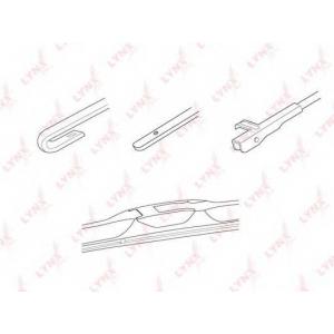 LYNX lx700 Гибридная щетка стеклоочистителя 700мм/28