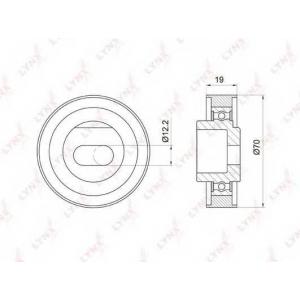 LYNX pb-1020 Ролик натяжной / грм