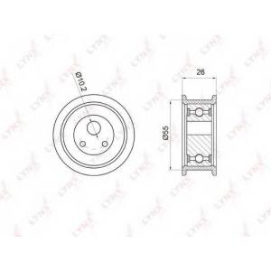 LYNX pb-1025 Ролик натяжной / грм