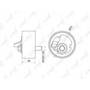 LYNX pb-1056 Ролик натяжной / грм