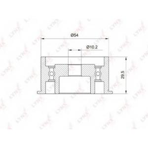 LYNX pb-3040 Ролик направляющий / грм