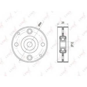 LYNX pb-5014 Ролик натяжного механизма / приводной