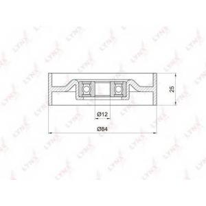 LYNX pb-5015 Ролик натяжного механизма / приводной