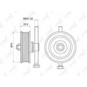 LYNX pb-5042 Ролик натяжной / приводной