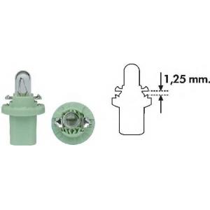 MAGNETIMARELLI 002051400000 Лампа накаливания PBX5 12V 2W BX8.5D (пр-во Magneti Marelli)