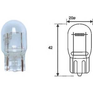 MAGNETI MARELLI 002052200000 T20 21W 12 Лампа накаливания (12V 21W T20)