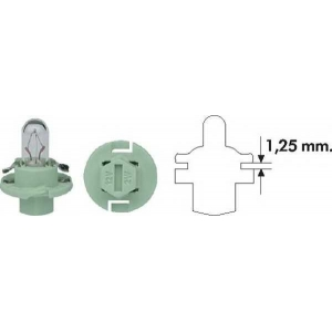 MAGNETI MARELLI 002053100000 PBX4 2W 12 Лампа накаливания (12V 2W PBX4)