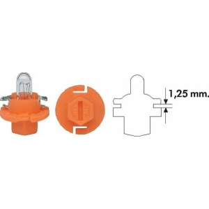 MAGNETI MARELLI 002053300000 PBX4 1,12W 1 Лампа накаливания (12V 1,12W PBX4)