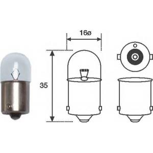 Лампочки рного знака, Лампа накаливания, фара задн 004008100000 magnetimarelli -