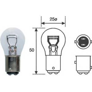 MAGNETI MARELLI 008528100000 Лампа R2