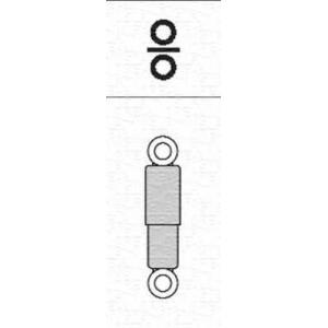 MAGNETI MARELLI 351322080000 Амортизатор задній