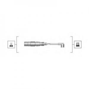 941319170025 magnetimarelli Комплект проводов зажигания VW GOLF универсал 1.6