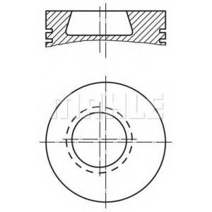 MAHLE 002 80 10 поршень (OM364/OM366)