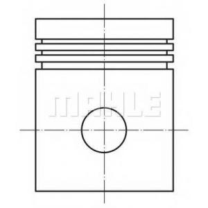 MAHLE 004 15 00 поршень компрессора (D=90мм)