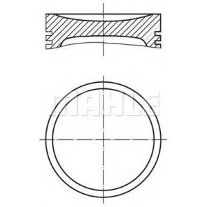 0089101 mahle Поршень FIAT TIPO Наклонная задняя часть 1.1 (160.AA)