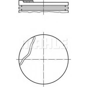 0220200 mahle Поршень RENAULT MEGANE Наклонная задняя часть 1.6 e (BA0F, BA0S)