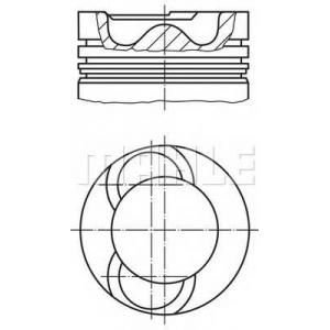 MAHLE 028 09 00 Поршневая VW Crafter 2.5TDi двиг. 136/163 л.с. 81,01