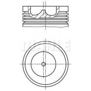 MAHLE 101 99 00 Поршень (BF4/BF6M1013) Euro 2