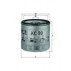 MAHLE FILTERS KC20