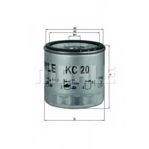 MAHLE FILTERS KC20 Фільтр паливний Mahle KHD