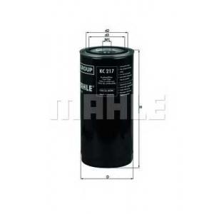 MAHLE KC217 Фильтр топлива  DAF, Iveco, ...