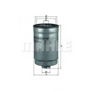 MAHLE KC 226 Фильтр топливный Mahle