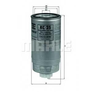 MAHLE KC 25 Фильтр топливный BMW