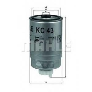 kc43 mahle Топливный фильтр PEUGEOT BOXER автобус 2.5 DT