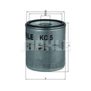 kc5 mahle Топливный фильтр TOYOTA LAND CRUISER вездеход закрытый 4.0 Diesel (HJ60)