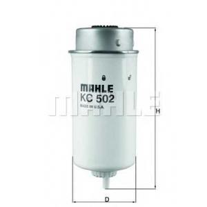 MAHLE FILTERS KC502 Фільтр паливний Mahle FORD Transit 125-137л.с. Diesel 02-06