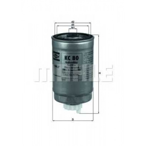 MAHLE KC80 Фильтр топлива  VW