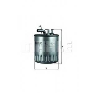 MAHLE KL100/1 Фильтр топливный Daimler A-Klasse, Vaneo