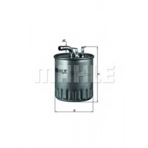 MAHLE KL100/2 Фильтр топлива  Daimler Sprinter, Vito