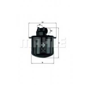 MAHLE FILTERS KL108 Фільтр паливний Mahle Honda, Rover