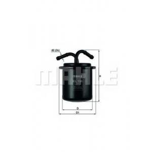MAHLE KL134 Фильтр топлива  Subaru