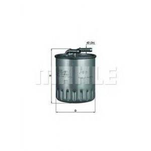 MAHLE KL155/1 Фильтр топлива  Daimler