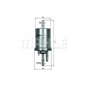 MAHLE KL156/3 Фильтр топлива  Audi, Skoda, VW