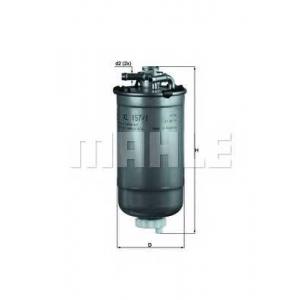 MAHLE KL157/1D Фильтр топлива  VW, Skoda, Seat