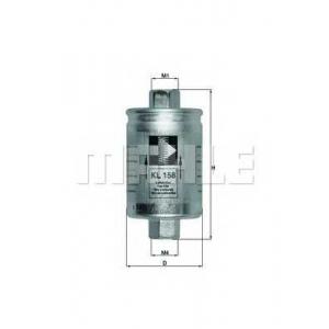 kl158 mahle Топливный фильтр JAGUAR XJ седан R Super Charged 4.0