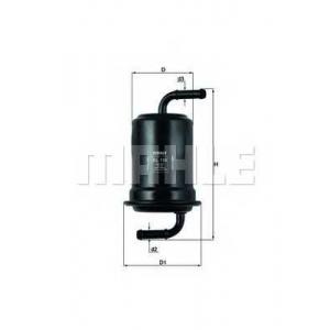 MAHLE FILTERS KL159 Фільтр паливний Mahle Mazda