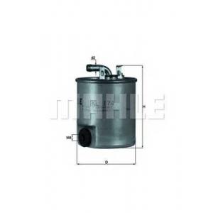 MAHLE KL174 Фильтр топлива  Daimler