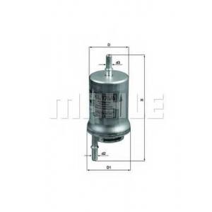 MAHLE KL176/6D Фильтр топлива  Seat, Skoda, VW