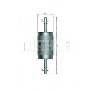 MAHLE KL181 Фильтр топлива  Ford