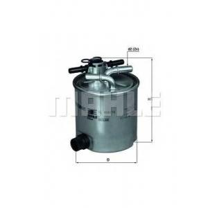 MAHLE FILTERS KL404/16 Фільтр паливний Mahle DACIA