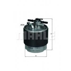 MAHLE KL440/18 Фильтр топлива  Nissan