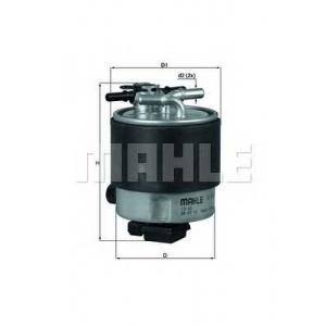 MAHLE FILTERS KL440/19 Фільтр паливний Mahle Nissan, Renault DCI