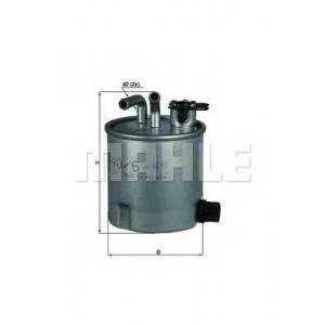 MAHLE FILTERS KL440/6 Фільтр паливний Mahle Nissan Navara Pathfinder
